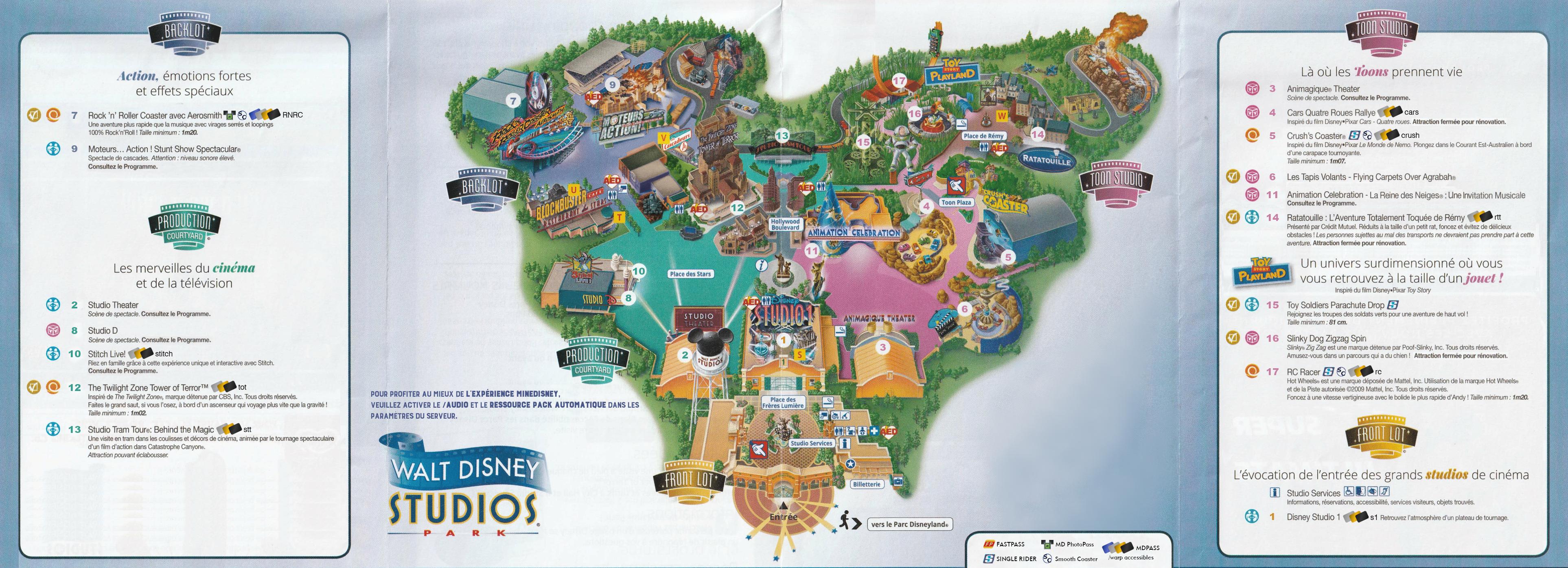 Plan - Walt Disney Studios